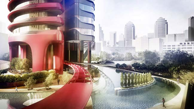 Ferra luxury residential tower in Singapore