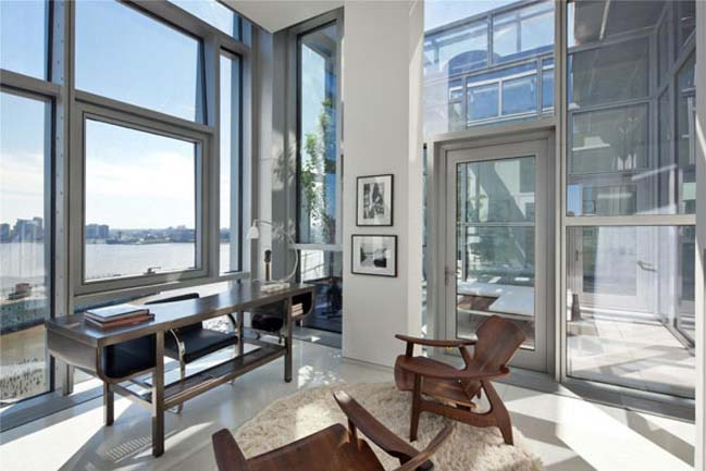 Luxury penthouse with 360 view in new york for Luxury penthouses in new york