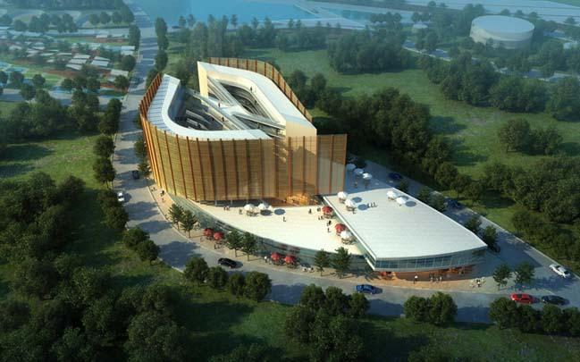 Pan African Games 2015 Stadium by IDA