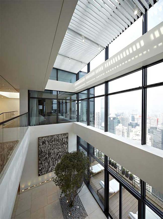 2 stories penthouse in china