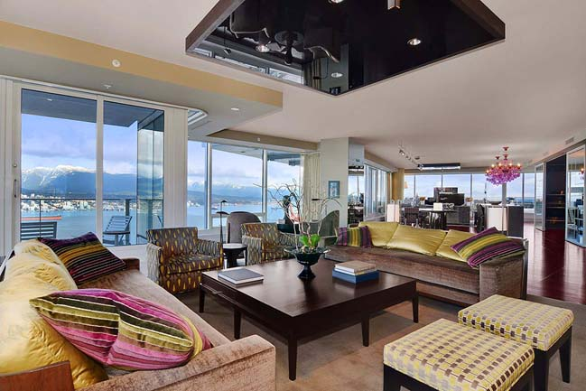 Luxury penthouse in Vancouver