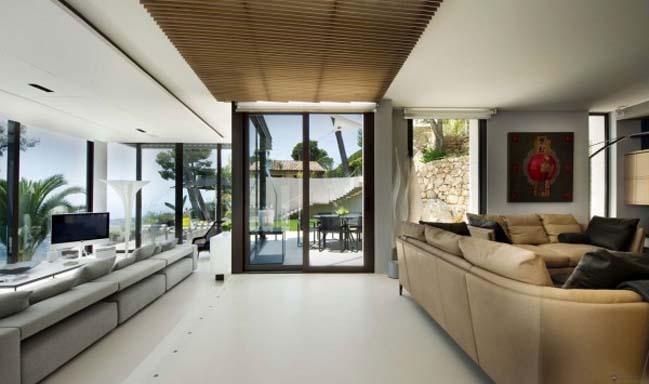 Magnificent villa on bay of Villefranche