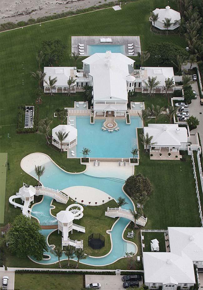 Celine Dion selling her waterpark villa