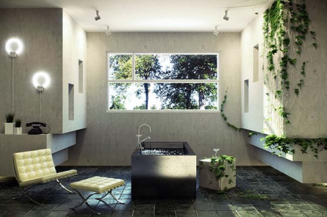Modern bathroom designs with a view of nature on nature kitchen, nature house designs, nature tile designs, nature fence designs, nature doors, nature wall designs, nature jewelry designs, natural stone shower designs, nature decor, nature inspired design, nature office design, nature room, nature baths, nature art, nature bedroom, nature architecture, nature wood burning designs, nature fabrics, nature paint designs,