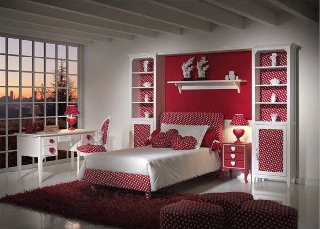 Beautiful bedroom designs for teenage