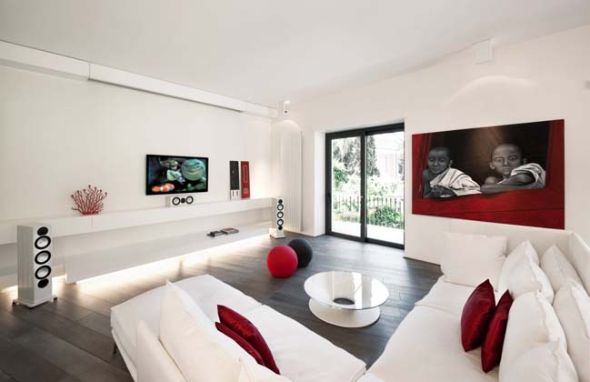 13 white living rooms with modern design