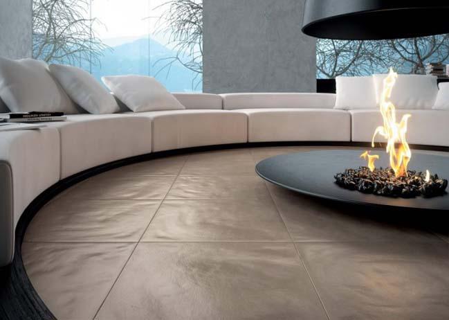 Living room designs with sunken area