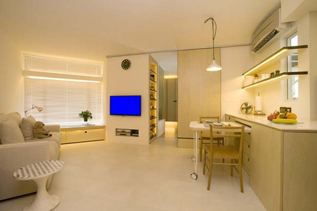 Small apartment in hong kong for Apartment design hk