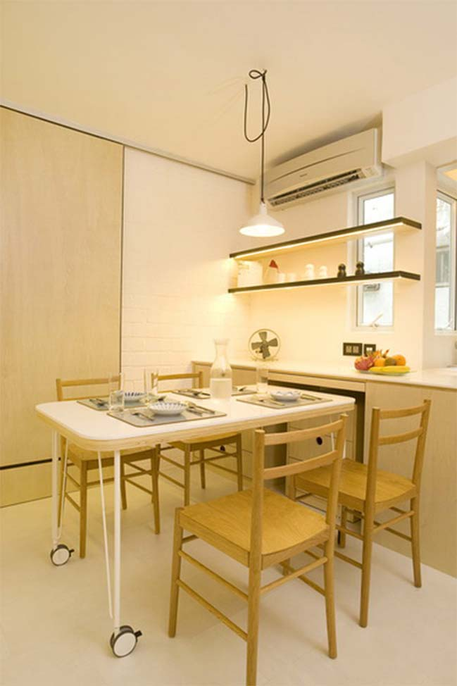 Small apartment in Hong Kong