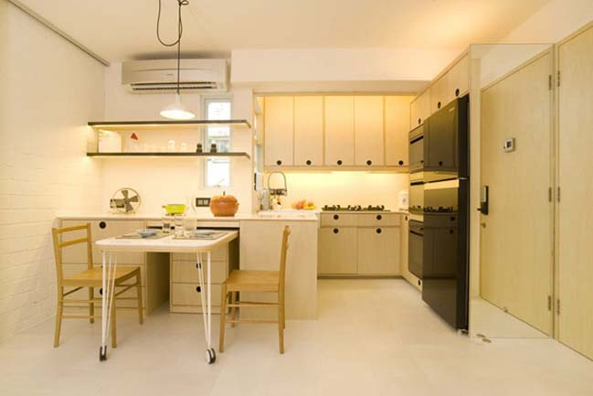 Small apartment in hong kong Kitchen design companies hong kong