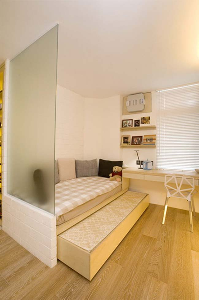 Small apartment in Hong Kong