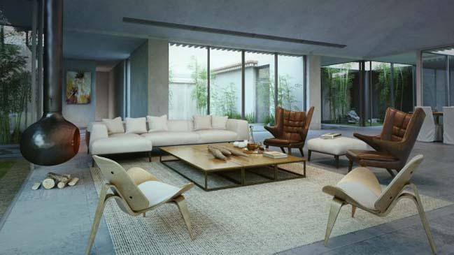 Suburb villa in Israel