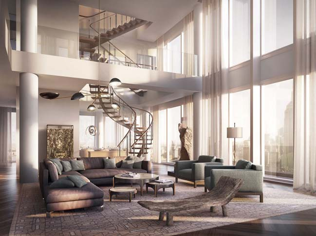 Inside Rupert Murdoch luxury penthouse