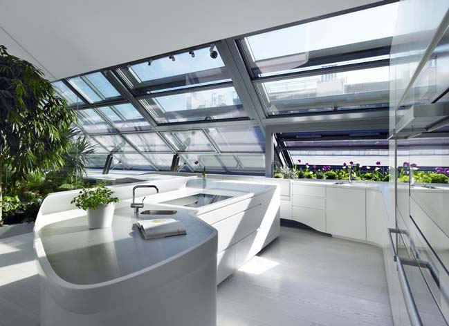 HI-MACS futuristic kitchen designs