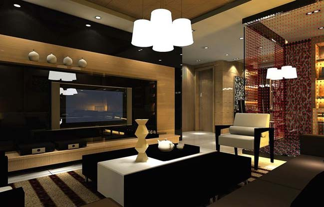 15 luxury living room designs for Luxury apartment interior design ideas
