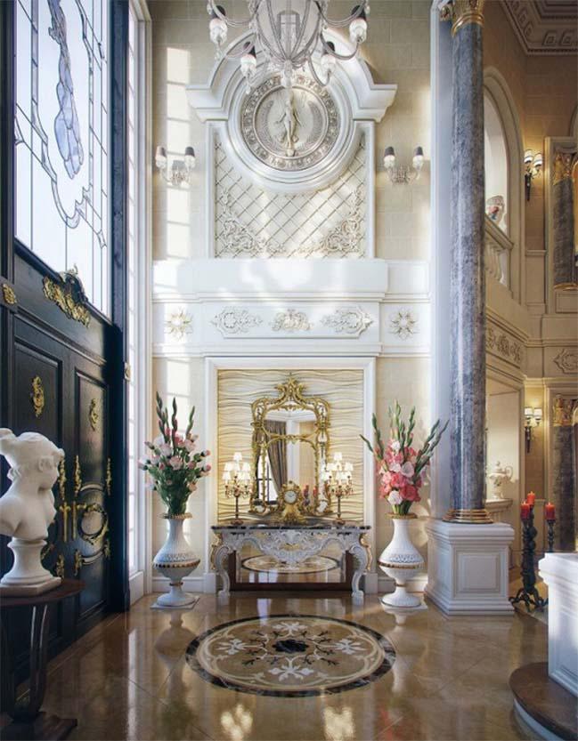 Luxury traditional villa in Qatar