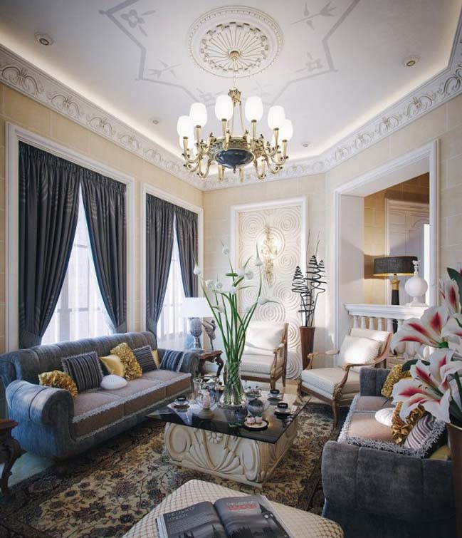 Luxury traditional villa in Qatar