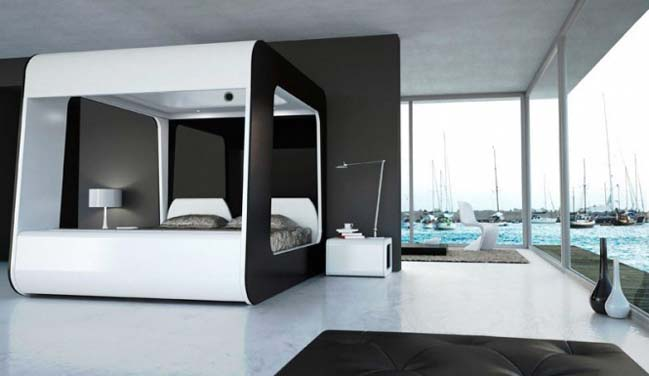 Hican: The ultimate entertainment bed