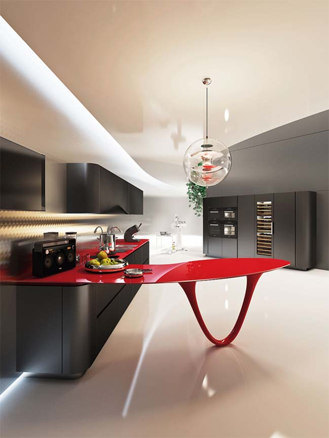 Ferrari kitchen by Pininfarina