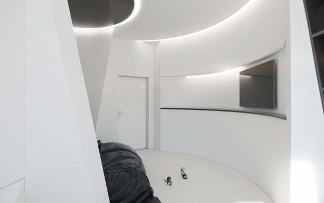 Origami apartment by Nordes
