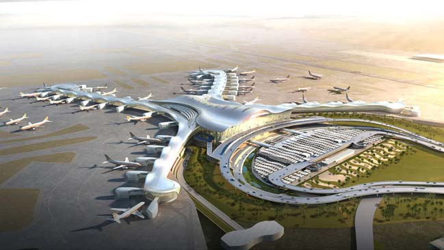 Master plan Abu Dhabi airport