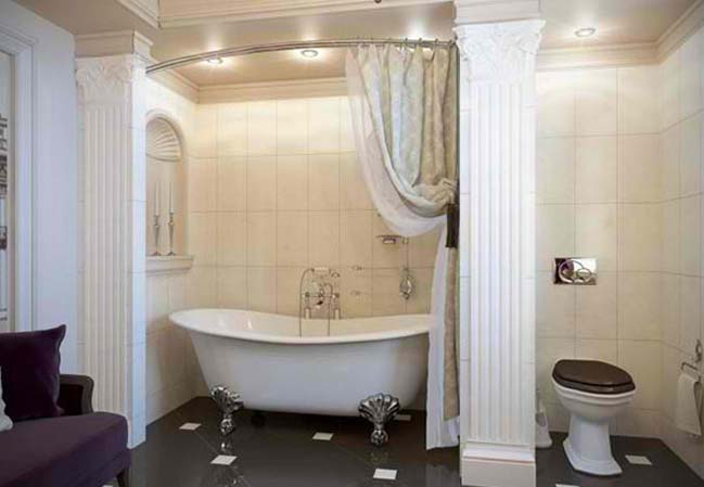 15 bathroom designs with classic bathtub