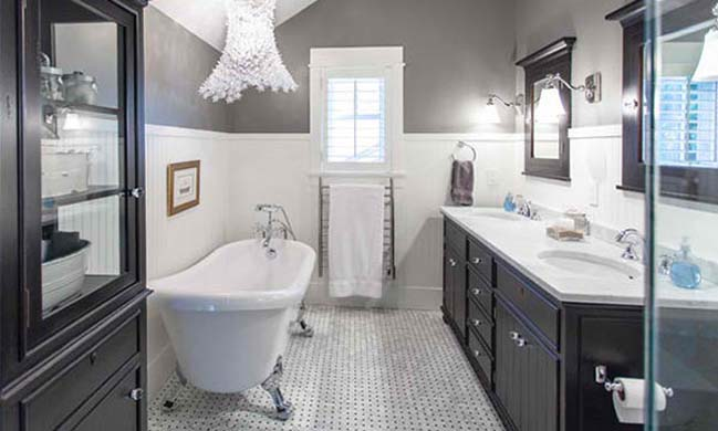 15 bathroom designs with classic bathtub