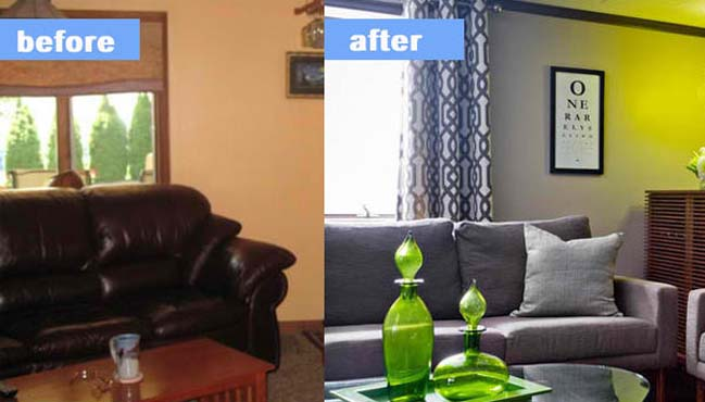 15 before and after living room designs