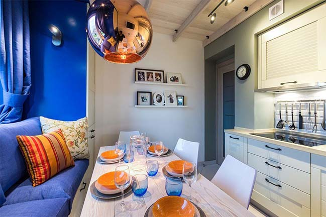 Renovate small kitchen design 9m2