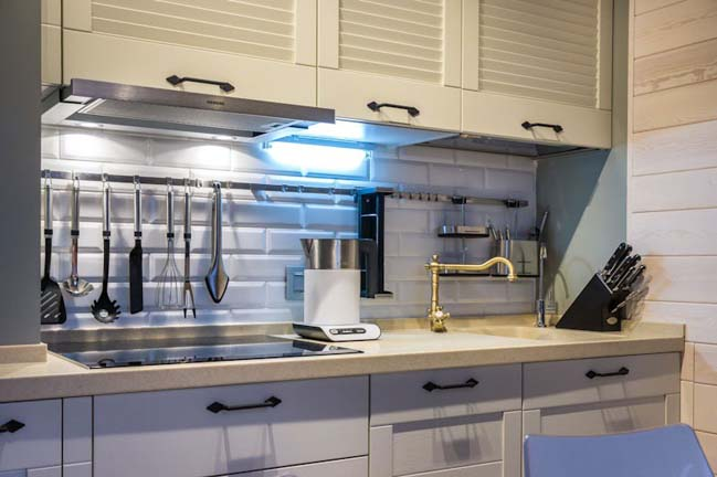 Renovate small kitchen design 9m2