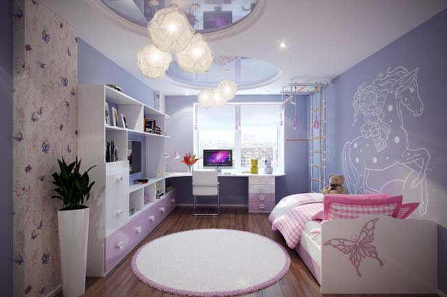 Beautiful bedroom designs for little girls for Beautiful bedroom designs