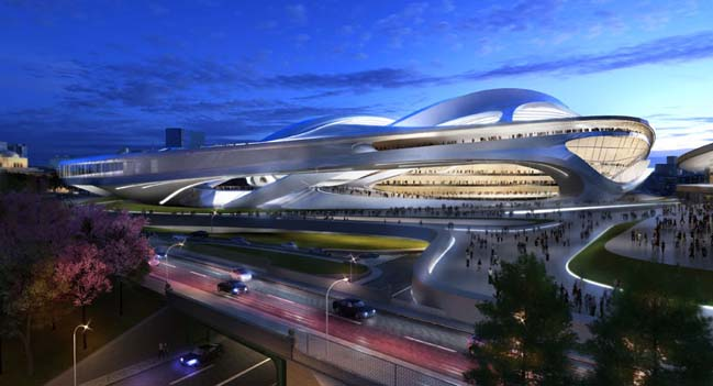 New National Stadium architecture prepare for 2020 Olympic