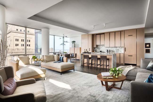 Luxury penthouse of Gisele Bundchen and Tom Brady