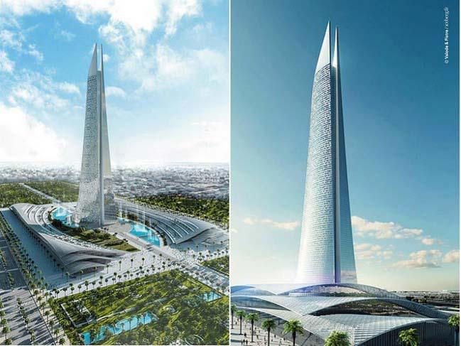The tallest skycraper in Africa