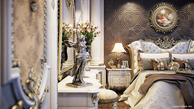 bedroom design in Qatar