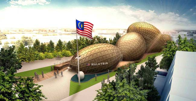 Malaysia pavilion at expo milan 2015 for Architecture design company in malaysia