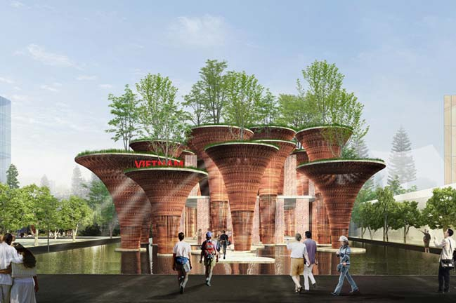 Vietnam pavilion at Expo Milan 2015