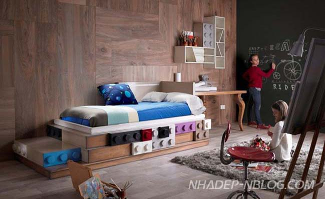 Superb Creative Bedroom Design Inspired By LEGO Nice Design