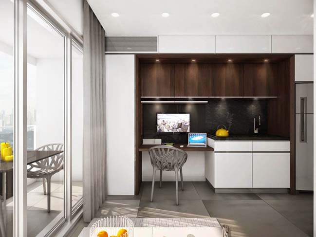 Optimal space for small house 19m2