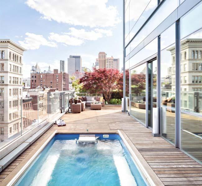 The stunning sky garden penthouse