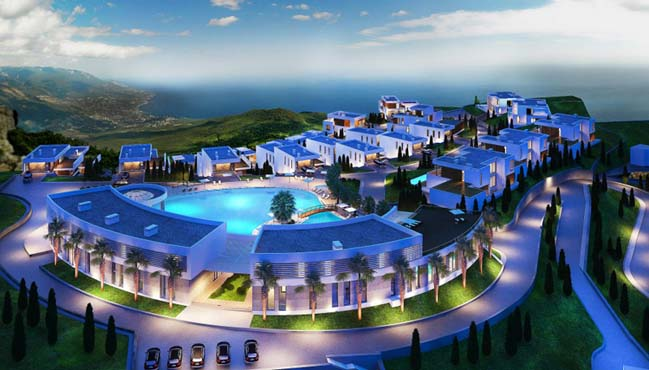 Luxurious villas in Sochi Russia