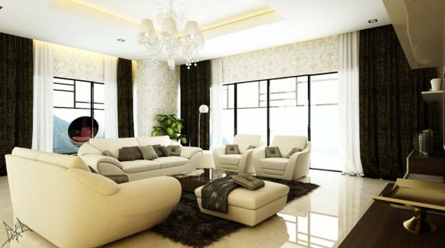 Contemporary living room designs collection