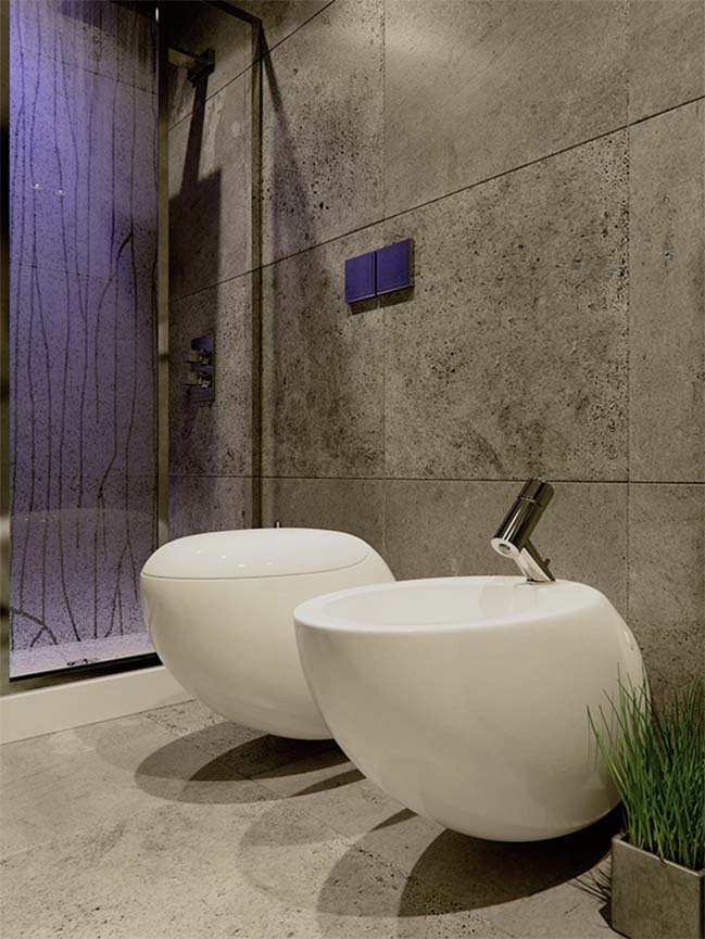 designed by jordan pierguidi this small bathroom has area of 3m x 1