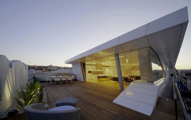 Rooftop penthouse in Sydney Australia