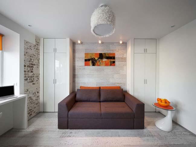 Tiny apartment 22sqm in Kiev