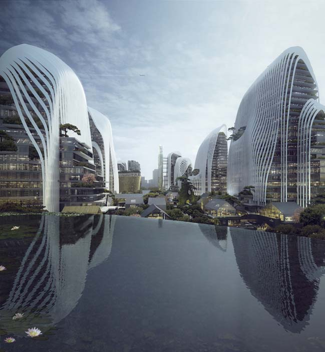 Nanjing Zendai Himalayas center by MAD