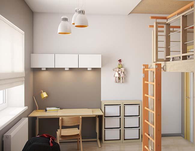 Lovely bedroom design for girls