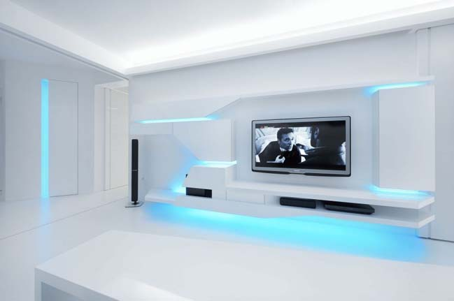 futuristic apartment | 88designbox