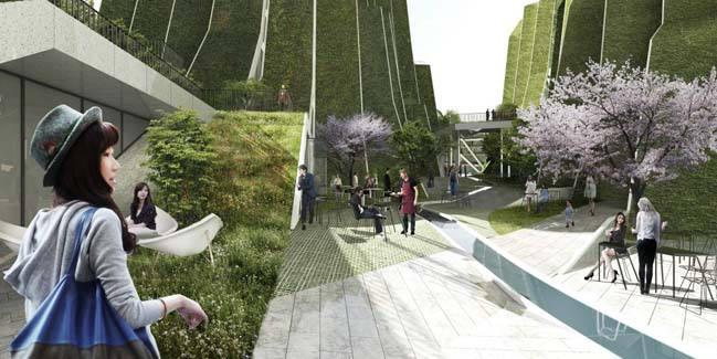 Mountainous Housing Project in Taiwan