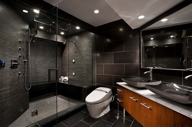 48 Amazing Black Bathroom Designs Adorable Main Bathroom Designs